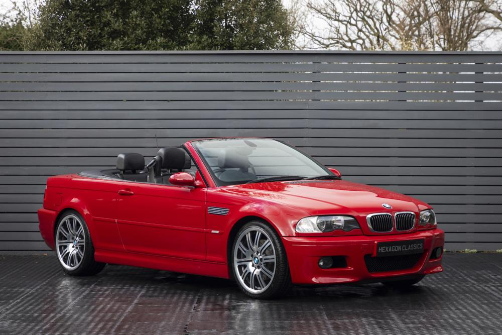 Bmw M3 Convertible E46 Manual 2004 Hexagon Classic And Modern Cars