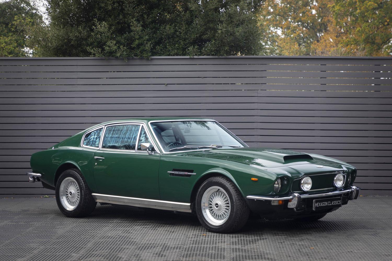 Aston Martin V8 Series 3 Vantage Enhancements 1974 Hexagon Classic And Modern Cars