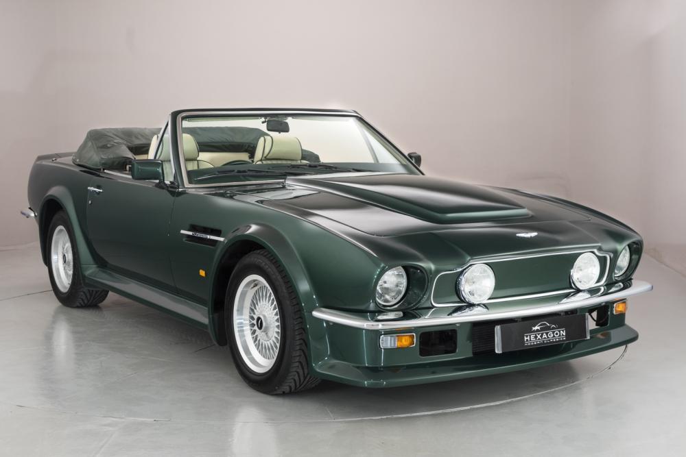 Aston Martin V8 Vantage Volante X Pack Manual 1989 Hexagon Classic And Modern Cars