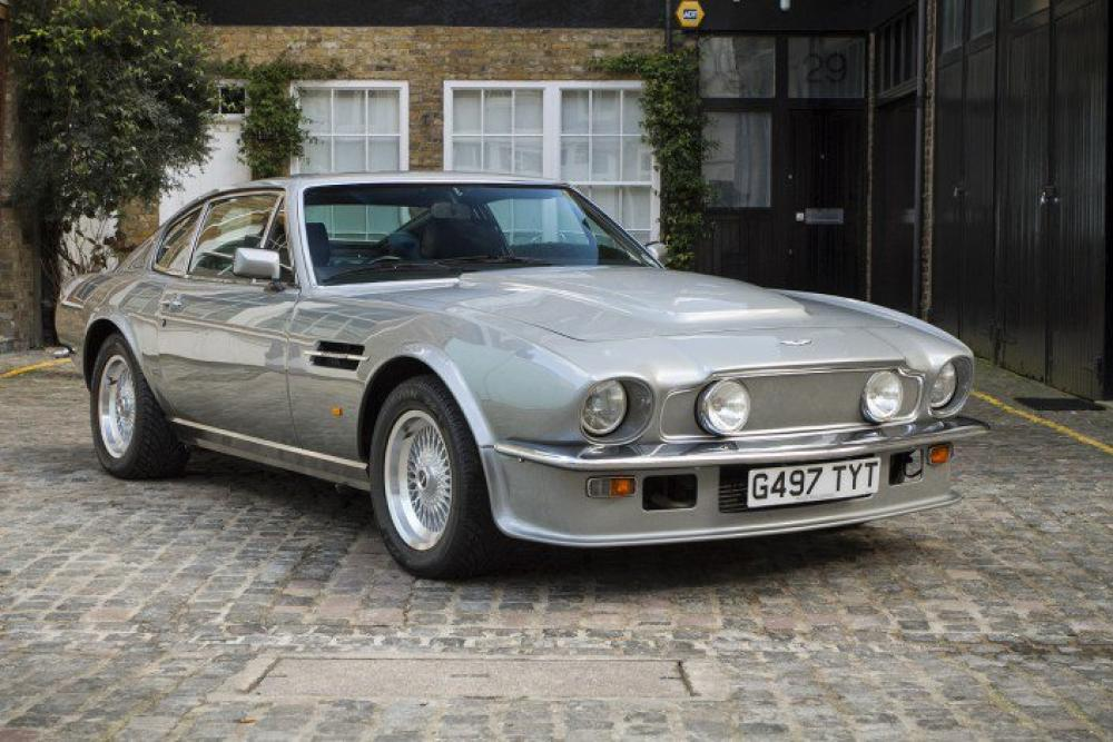 1989 Aston Martin V8 Vantage Series Iii X Pack Manual Coupe Hexagon Classic And Modern Cars