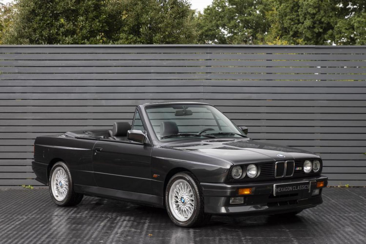 Halogen Light For Cars >> BMW M3 E30 CONVERTIBLE, LHD 1993 | Hexagon, Classic and Modern Cars
